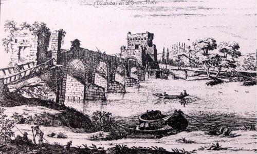 Ponte Milvio - ca. 1650